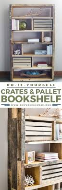 34 diy bookshelf ideas easy and