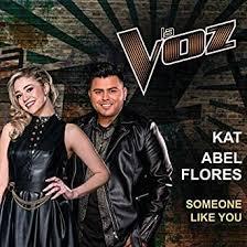Someone Like You (La Voz US) by Kat & Abel Flores on Amazon Music -  Amazon.com