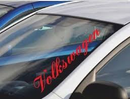 Gold 55cm Windscreen Decal Volkswagen Vinyl Car Sticker Window Body Archives Statelegals Staradvertiser Com