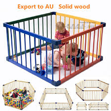 80 61cm Solid Wood Baby Toddler Game Fence Child Safety Fence Door Wooden Child Safety Gate Baby Playpens Solid Wood Baby Playpens Aliexpress