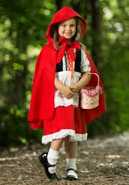 deluxe s little red riding hood costume