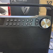Loa karaoke mini Kingbass Q7( BẢN TIẾNG ANH ), Loa kéo bluetooth hát karaoke  gia đình âm thanh cực hay + Tặng 1 micro, Giá tháng 10/2020