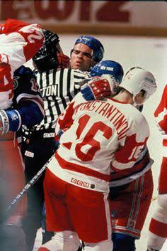 Image result for After Brawling On The Ice Domi Calls Probert A Teddy Bear""