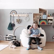 Stuffed Animal Bean Bag Chair Organizing Lounger Toy Storage Seat Kid Room Sofa Ebay