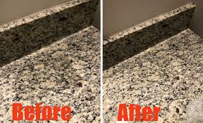 remove grease or oil from granite