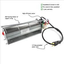 fk12 fireplace blower fan kit for