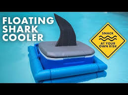 diy floating cooler for pool parties or