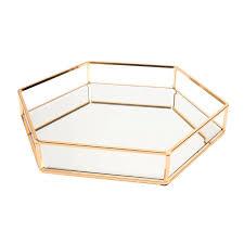 jewelry tray perfume tray mirror vanity
