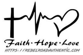 Faith Hope Love Vinyl Decal Rebel Rd Auth