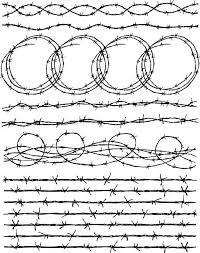311 Drawing Of The Barbed Wire Fence Illustrations Royalty Free Vector Graphics Clip Art Istock