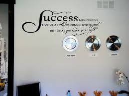 Success Lies In Doing Wall Decals Trading Phrases