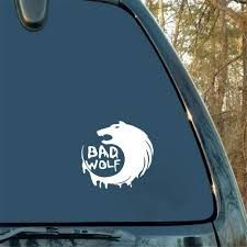 Amazon Com Tyande Car Decal Car Sticker Car Sticker Bad Wolf Car Decal Window Trunk Sticker Auto Motor Decoration For Car Laptop Window Sticker Home Kitchen