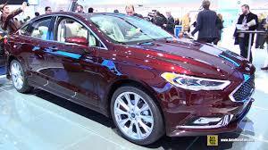 2017 ford fusion platinum exterior
