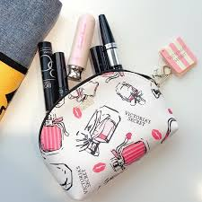 secret pink perfume glam pouch
