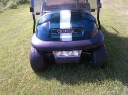 6 Golf Cart Center Hood Stripe Graphic