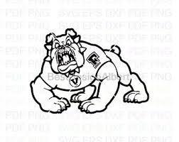 Fresno State Bulldog Etsy