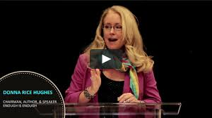 """2014 CESE Summit Video: Donna Rice Hughs, """"Latest Technological ..."""