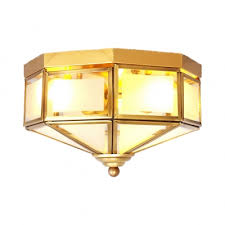 lights vintage style flush mount light