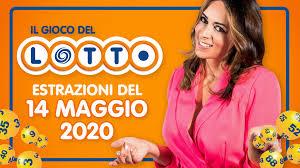 Estrazione Lotto 14 maggio 2020 con SuperEnalotto 10 e Lotto ...