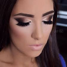eye makeup for black dresses makeup