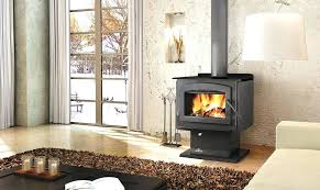 fireplace in house without chimney