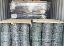 Hot Dipped Galvanized Barbed Wire Mesh Roll Barbed Wire Mesh Fence Design