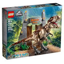 Lego Jurassic World Jurassic Park T Rex Rampage 75936 Officially Announced The Brick Fan