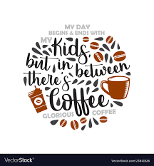 fathers day saying and quotes coffee dad my dad vector image