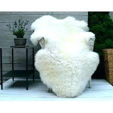 ikea sheep rug sheepskin rug white and