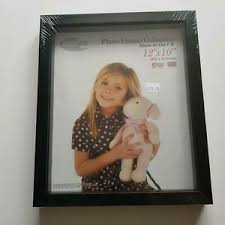 4x large photo black frames with glass