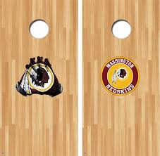 Washington Redskins Cornhole Decals Nfl Cornhole Decals Buy 2 Get 1 Free Gamedaydecals