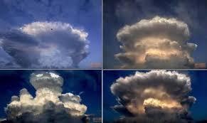 El 'hongo atómico' que puso a temblar a la ciudad de Pekín (Fotos ...