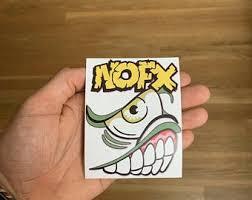 Nofx Sticker Etsy