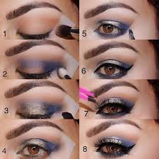 fancy eye makeup for a party night