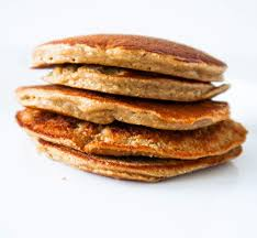 fluffy oatmeal pancakes without banana