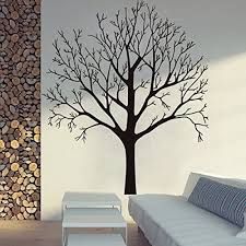 Amazon Com Bestpriceddecals Bare Tree Small Med Or Large Wall Decal Lrg 35 X 40 Home Kitchen