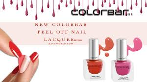 colorbar l off nail lacquer review