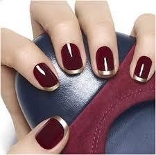 make stunning burgundy nails designs