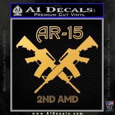 Ar 15s Gun Rights Ar15 Decal Sticker A1 Decals