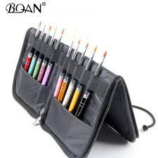 bqan nail brush holder storage case bag