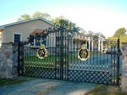Iron Gate Posts Products For Sale Ebay