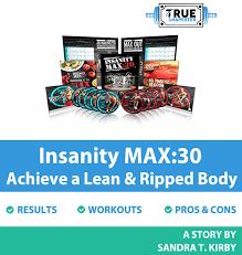 insanity max 30 review impressive