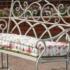 fl print vintage bench cushion in