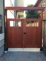 Finished Diy Redwood Craftsman Fence Gate Shirley Chris Projects Blog