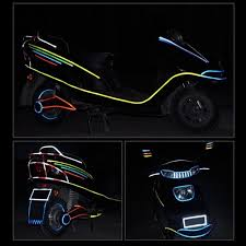 Car Styling Reflective Stickers 8mx1cm Self Adhesive Luminous Diy Tape Rim Decal Tape Glow In Dark Fluorescent Reflector Road Cycling Reflective Bicycle Wheel