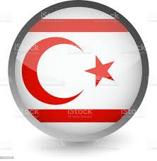 Kuzey Kıbrıs Türk Cumhuriyeti Bayrağı Parlak Simge Yuvarlak Stok Vektör  Sanatı & Bayrak'nin Daha Fazla Görseli - iStock