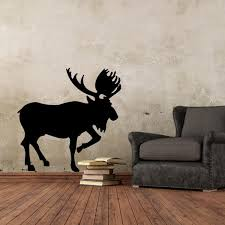 Deer Wall Art Mural Decor Poster Propitious Animal Deer Wall Decal Sticker Unique Living Room Bedroom Wall Tattoo Decoration Graphic Vinyl Wall Decals Vinyl Wall Decals Kids From Magicforwall 3 28 Dhgate Com