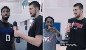 VIDEO: Ivica Zubac teaches his LA Clippers teammates some Croatian ...
