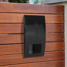 Fence Brick Letterbox For Timber Brick Wall Steel Gate Mounting Charcoal 159 95 Picclick Au