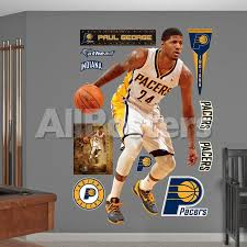 Indiana Pacers Paul George Wall Decal Sticker Wall Decal Allposters Com